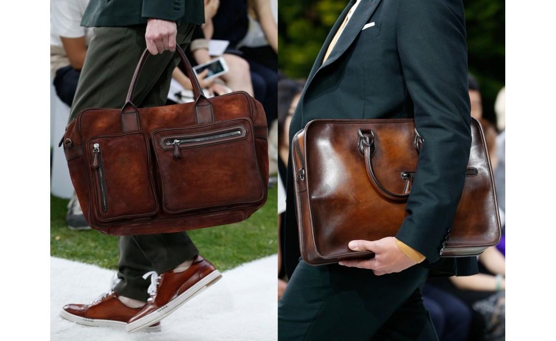 Какие мужские сумки выбрать к классическому образу.