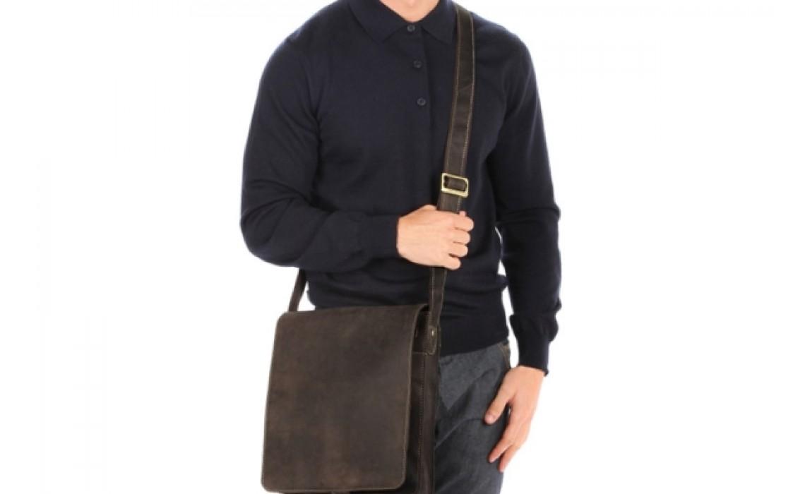 Мужская кожаная сумка - почтальон. Интересные факты происхождения аксессуара