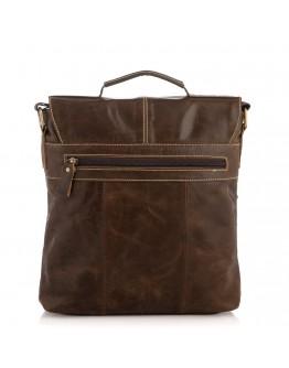 Мужская вместительная кожаная сумка BUFFALO BAGS M1292B
