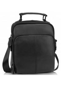 Небольшая черная сумка - барсетка M35-0118A