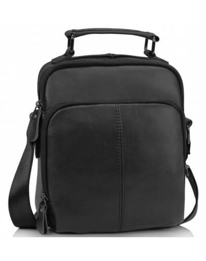 Фотография Небольшая черная сумка - барсетка M35-0118A