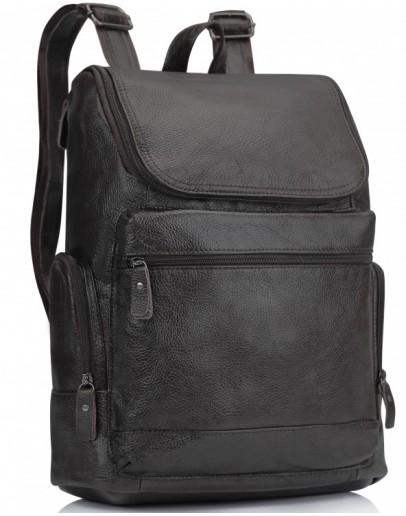 Фотография Коричневый кожаный мужской рюкзак M35-1017B