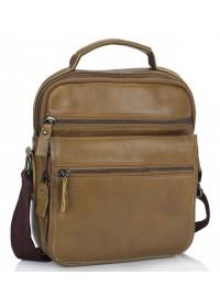 Мужская сумка - барсетка рыжего цвета Tiding Bag M35-8852LB