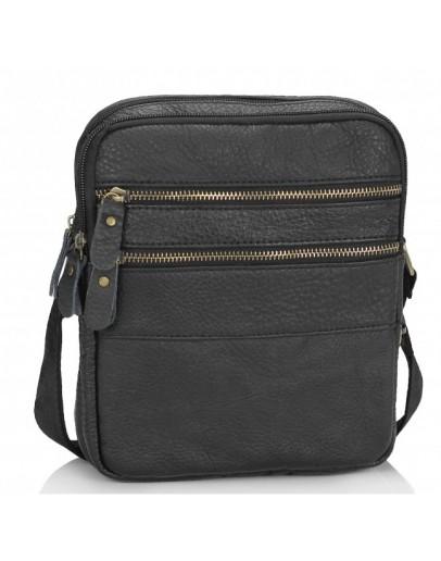 Фотография Мужская черная небольшая сумка Tiding Bag M38-3923AG