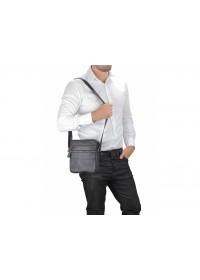 Мужская черная небольшая сумка Tiding Bag M38-3923AG