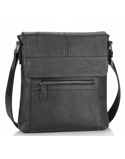Фотография Черная сумка на плечо Tiding Bag M38-9117-2A