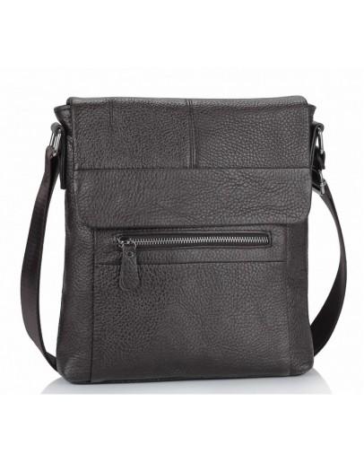 Фотография Темно-коричневая сумка на плечо Tiding Bag M38-9117-2B