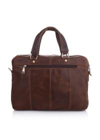 Сумка мужская коричневая винтажная Vintage M7010C