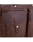 Фотография Сумка мужская коричневая винтажная Vintage M7010C