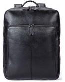 Фотография Кожаный черный мужской рюкзак M7115A