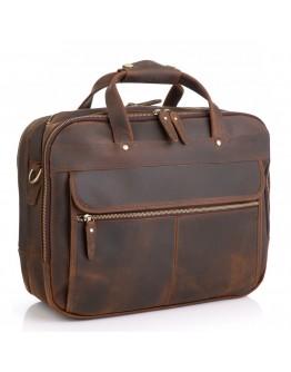 Вместительная винтажная сумка для ноутбука и вещей M7399R