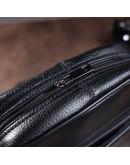 Фотография Черная небольшая сумка на плечо, мужская M7602A