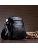 Фотография Мужская кожаная сумка, через плечо M7604A