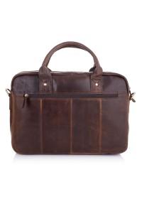 Коричневая деловая винтажная сумка Vintage M8503C