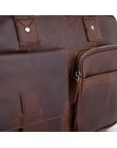 Фотография Коричневая деловая винтажная сумка Vintage M8503C