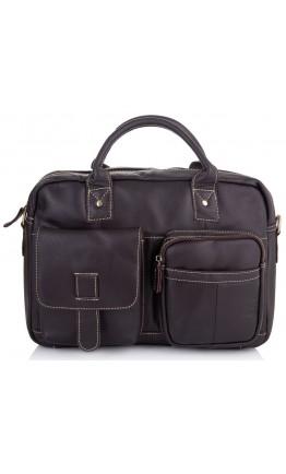 Коричневая мужская деловая сумка Vintage M8503J