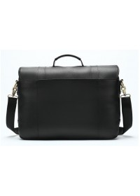 Мужской кожаный черный портфель M8580A