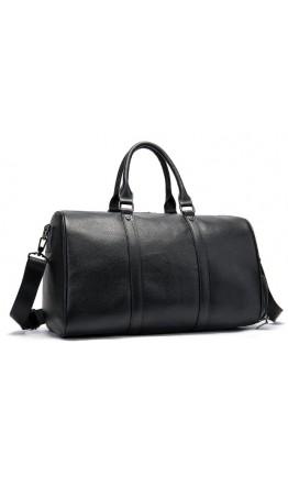 Черная кожаная сумка для командировок M8706A