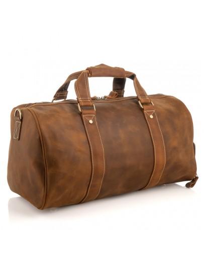 Фотография Дорожная мужская сумка из кожи crazy horse M8925R