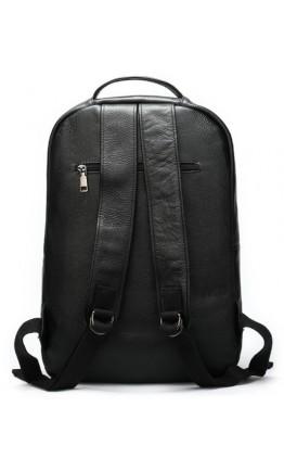 Кожаный мужской рюкзак черного цвета M9021A