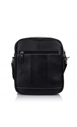 Черная мужская кожаная сумка Vintage M9054A