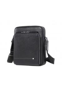 Мужская сумка для документов, небольшая черная M911-1A