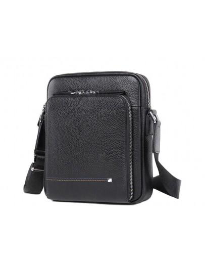 Фотография Мужская сумка для документов, небольшая черная M911-1A