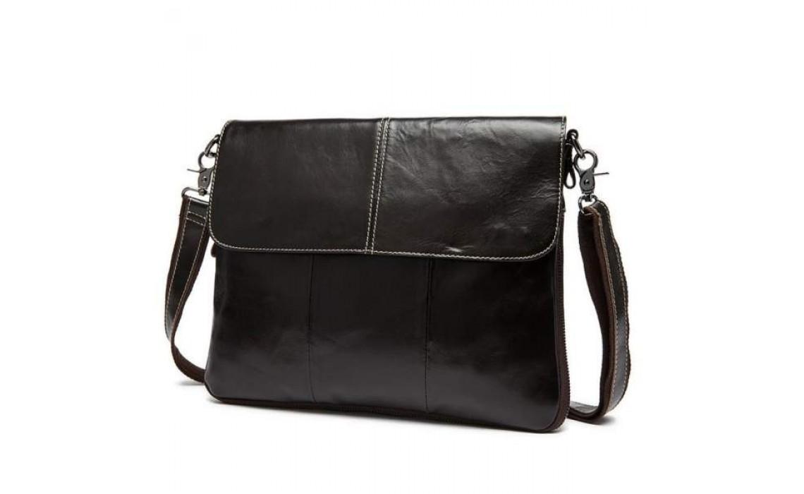 Мужская кожаная сумка для студента. Что выбрать