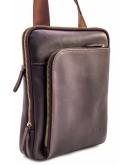 Фотография Мужская сумка коричневая кожаная VATTO MK114 KAZ400