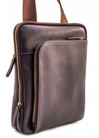 Мужская сумка коричневая кожаная VATTO MK114 KAZ400