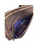 Фотография Мужская сумка коричневая винтажная кожаная VATTO MK114 KR450