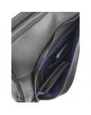 Фотография Мужская сумка черная винтажная кожаная VATTO MK114 KR670