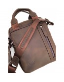 Фотография Мужская коричневая сумка - барсетка среднего размера VATTO MK115 KR450