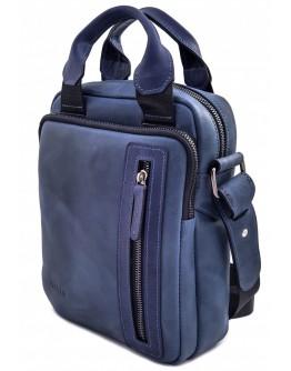 Мужская синяя сумка - барсетка среднего размера VATTO MK115 KR600
