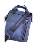 Фотография Мужская синяя сумка - барсетка среднего размера VATTO MK115 KR600