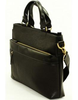 Мужская кожаная черная сумка для документов VATTO MK13.7 F8KAZ1