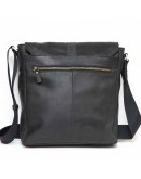 Фотография Черная мужская винтажная кожаная сумка VATTO MK17 KR670