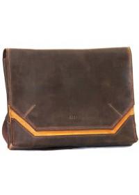 Оригинальная винтажная коричневая кожаная сумка А4 VATTO MK21 KR450.190