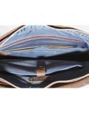 Фотография Удобная винтажная коричневая кожаная сумка А4 VATTO MK21 KR450