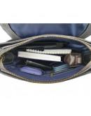 Фотография Черная мужская кожаная сумка - барсетка VATTO MK28.2 F13KAZ400