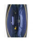 Фотография Синяя мужская винтажная кожаная сумка - барсетка VATTO MK28.2 KR600