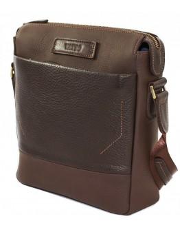 Коричневый мужской кожаный мессенджер VATTO MK33.21 F7LUX400