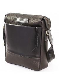 Черный мужской кожаный мессенджер VATTO MK33.21 F8KAZ1