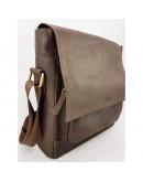 Фотография Мужская большая коричневая сумка на плечо VATTO MK6.5 KR450