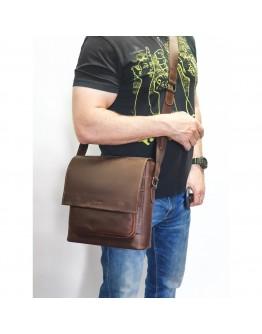 Мужская большая коричневая сумка на плечо VATTO MK6.5 KR450