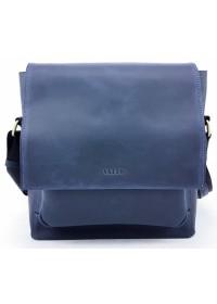 Мужская большая синяя сумка на плечо VATTO MK6.5 KR600