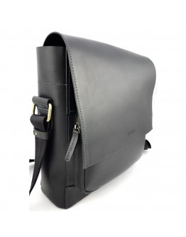 Мужская большая черная сумка на плечо VATTO MK6.5 KR670