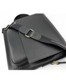 Фотография Мужская большая черная сумка на плечо VATTO MK6.5 KR670