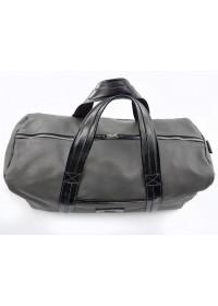 Серая мужская кожаная дорожная сумка VATTO MK62 F13KAZ400