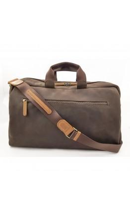 Дорожная винтажная кожаная сумка VATTO MK63 KR450.190